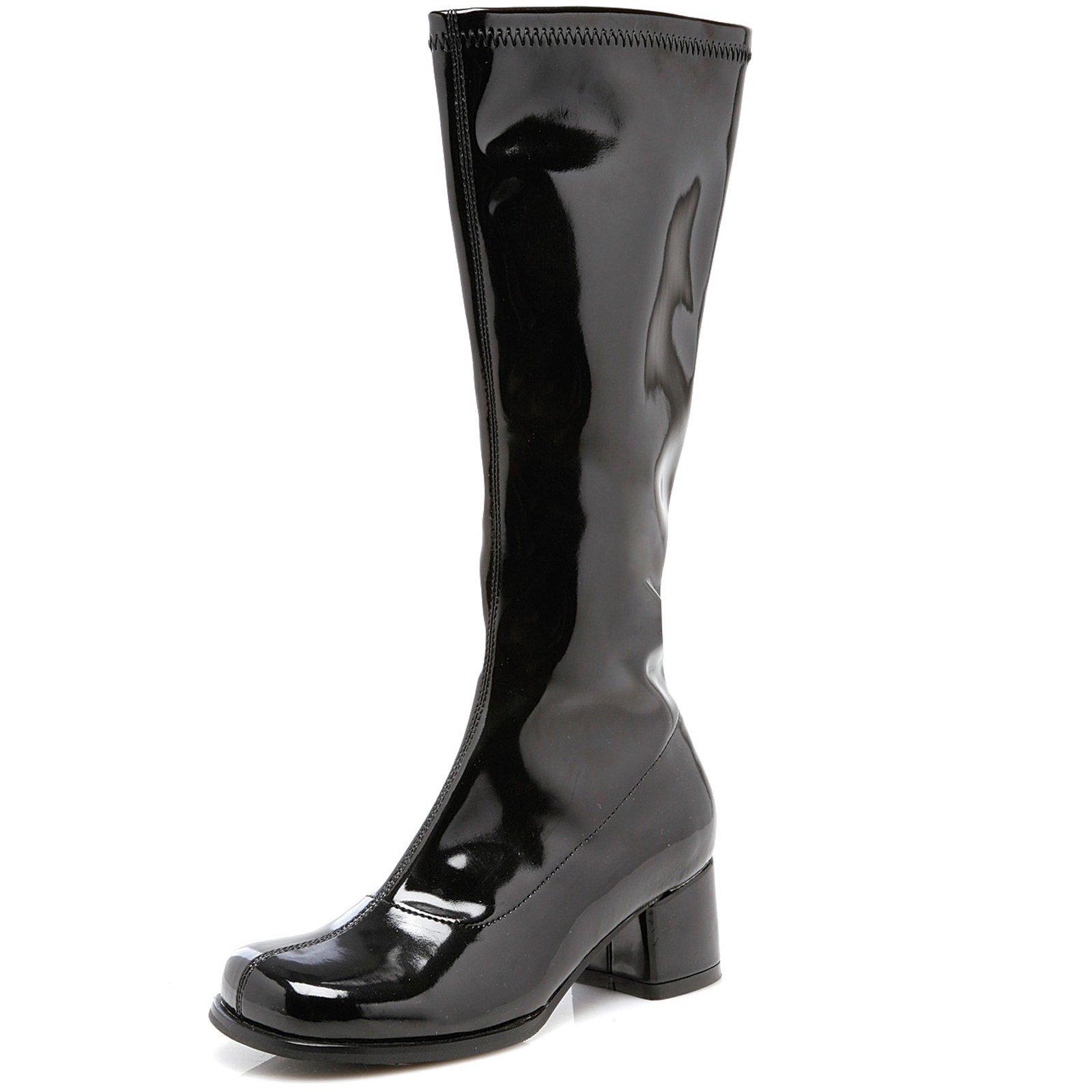 Ellie Shoes 1.75'' Heel Children's Gogo Boot. XL BLK