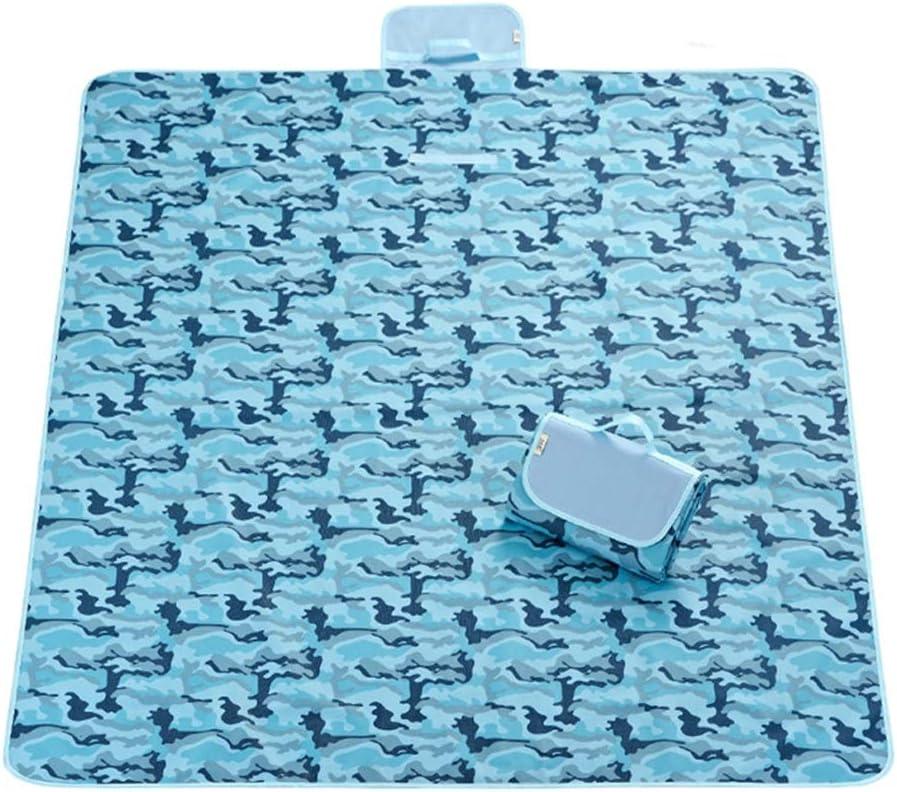 BFQY FH Tappetino da Picnic, Tappetino da Picnic Portatile Piumino da Spiaggia Imbottito Resistente all'umidità/Resistente all'Usura/AntiGraffio, 145 × 180 cm D