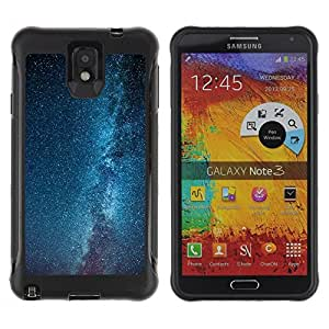"""Hypernova Defender Series TPU protection Cas Case Coque pour SAMSUNG Galaxy Note 3 III / N9000 / N9005 [Vía Láctea Estrellas Cielo Azul""""]"""