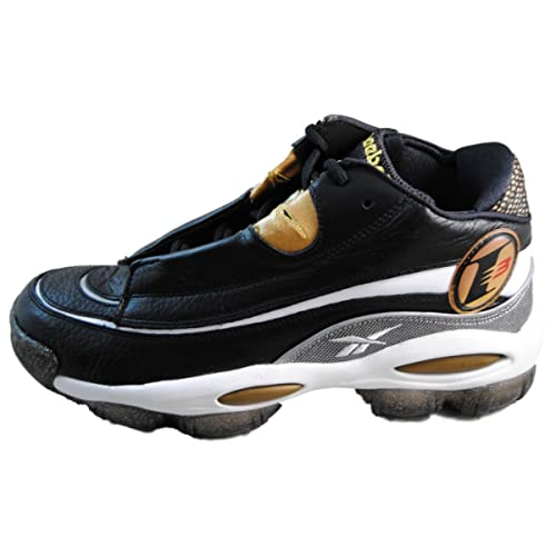 cb291027f548 Reebok The Answer DMX 10 Mens in Black White Metallic Gold Red Clear ...