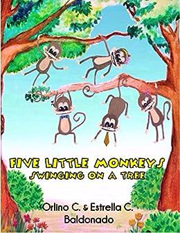 Five Little Monkeys Swinging On A Tree Kindle Edition By