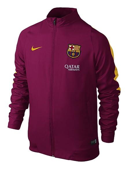 Nike FC Barcelona Pre-Match Training Mens Jersey [DYNAMIC BERRY] (S)