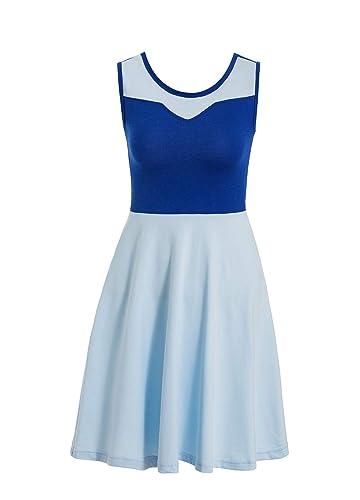Amazon.com: Vestido largo clásico de Cenicienta para adultos ...