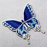 Butterfly-Embroidered-Badge-Iron-On-Sew-On-Patch