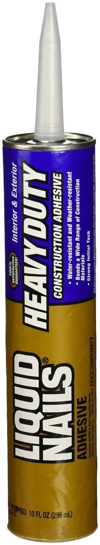 Liquid Nails LN-903 12 Pack Heavy Duty Construction Adhesive, Tan