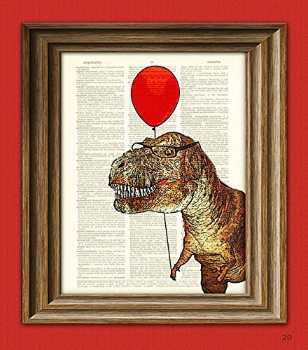 T-Rex with Balloon