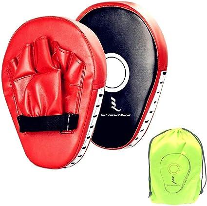Kids Black Focus Pad,Hook /& Jab Mitts Punching KickPad Boxing Muay Thai pad MMA