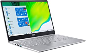 "(Renewed) 2020 Acer Swift 3 SF314 Thin & Light Laptop, 14"" FHD IPS, AMD Ryzen 5 4500U Hexa-Core up to 4.0 GHz, 8GB LPDDR4, 256GB SSD, Backlit KB, FP Reader, WiFi 6, USB-C, Win 10"