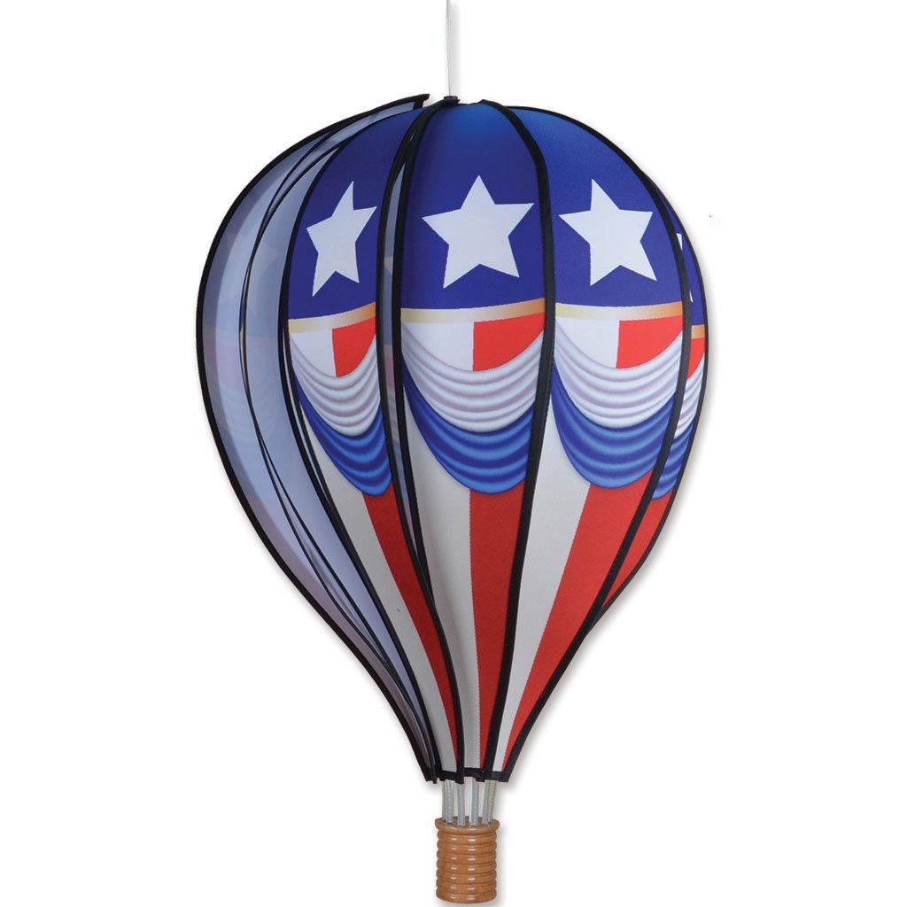 22 in. Hot Air Balloon - Vintage Patriotic by Premier Kites