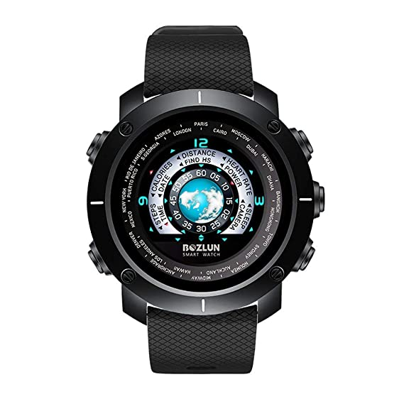 Reloj Deportivo Digital para Hombres Relojes Inteligentes e Impermeables con podómetro y cronómetro podómetro: Amazon.es: Relojes