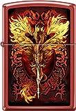 RARE Ruth Thompson Flameblade Dragon Red Matte Zippo Lighter