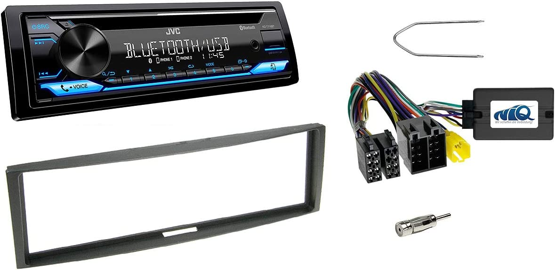 Niq Autoradio Einbauset Geeignet Für Renault Clio Elektronik