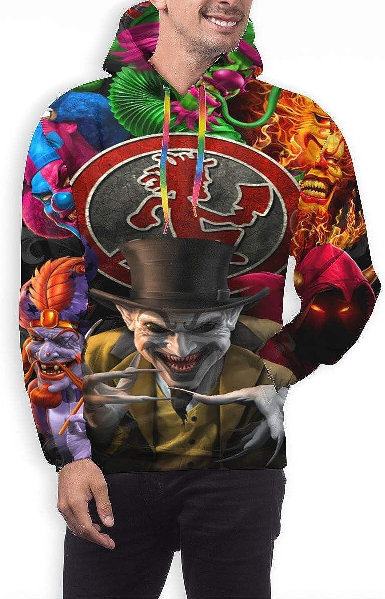 JulieGLee Insane Clown Posse Mens Casual Fashion Warm Breathable Cool Sweatshirt