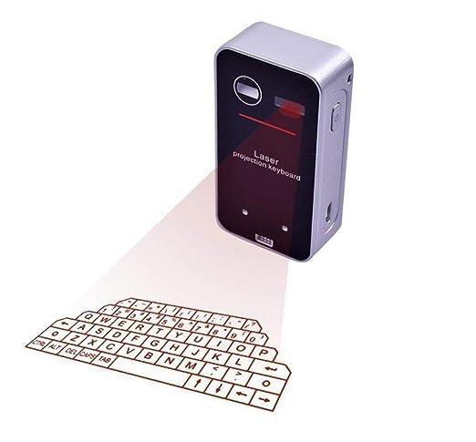 ELEGENCE-Z Teclado De Proyección, Mini-Proyector Portátil ...