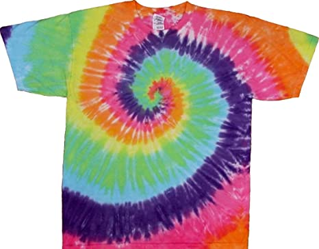 Tie Dyed Shop Pastel Spiral Tie Dye T Shirt Short Sleeve Men Women ... 5870464cd9