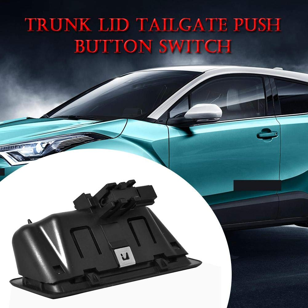 Trunk Lid Tailgate Push Button Switch 51247118158 for 1//3//5 Series X1 X5 X6