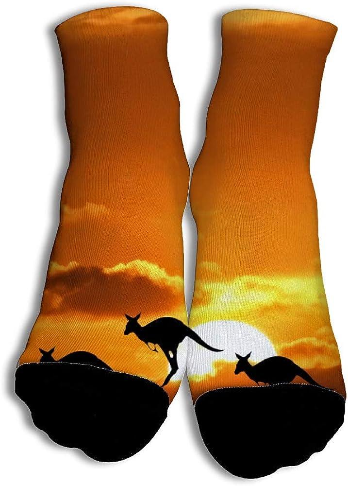 VenenoDulce Three Kangaroo Moda Calcetines únicos de corte bajo ...