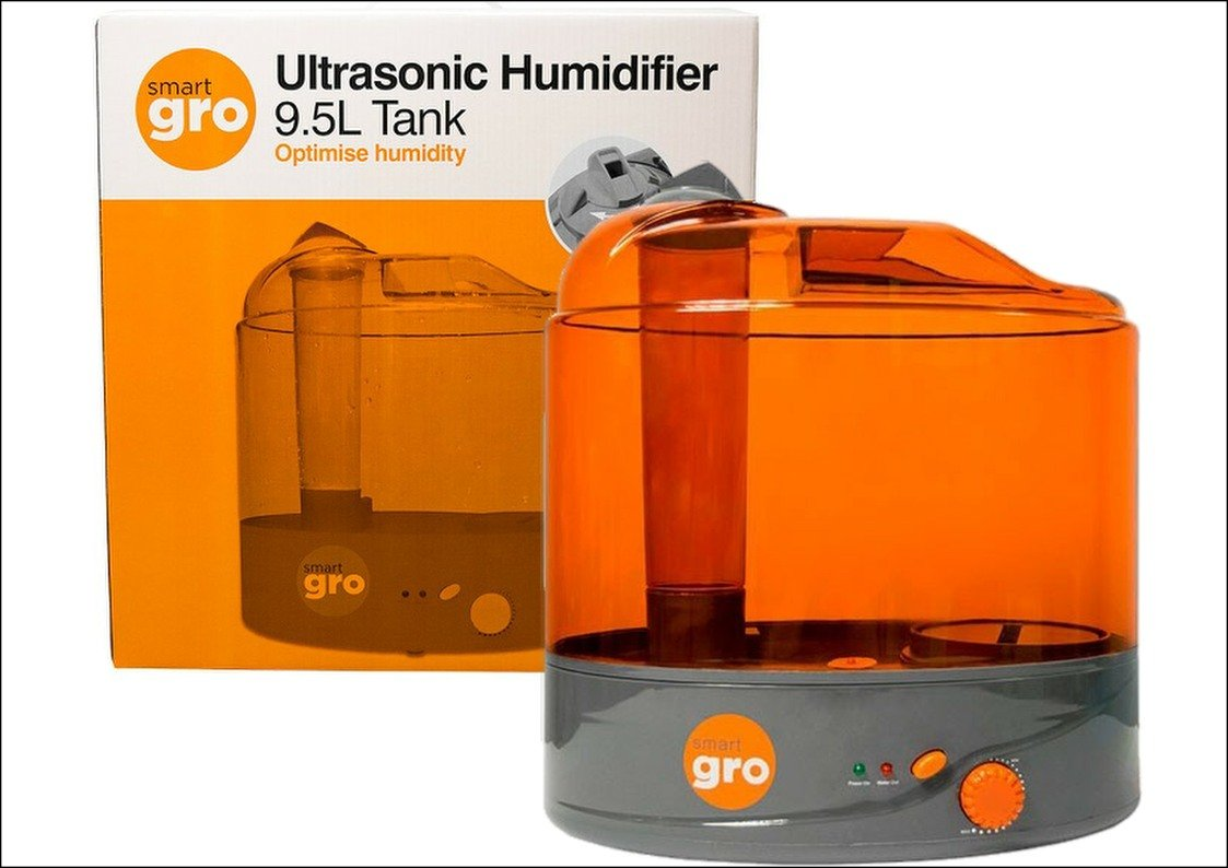 Smart Gro Ultrasonic Humidifier 9.5L Tank Hydroponics Grow Room