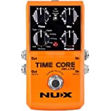 NUX Time Core Deluxe Delay Guitar Effect Pedal 7 Delay types with Looper Tone lock Upgrade mode