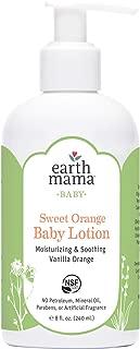 product image for Earth Mama Sweet Orange Baby Lotion with Organic Calendula, 8-Fluid Ounce