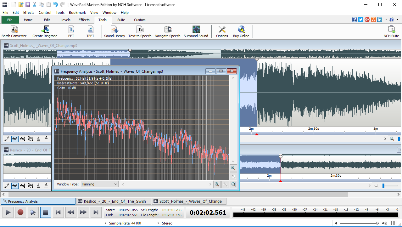 WavePad Audio Editing Software - Professional Audio and