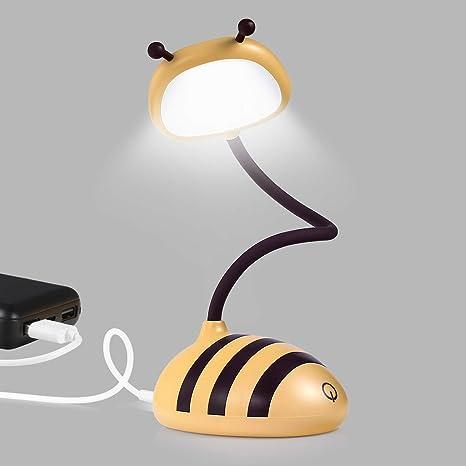 Merry Led Desk Target Lamp Home Bedside Touch Table Lamp Usb Port Cordless Desk Lamp Honeybee Yellow Amazon Com