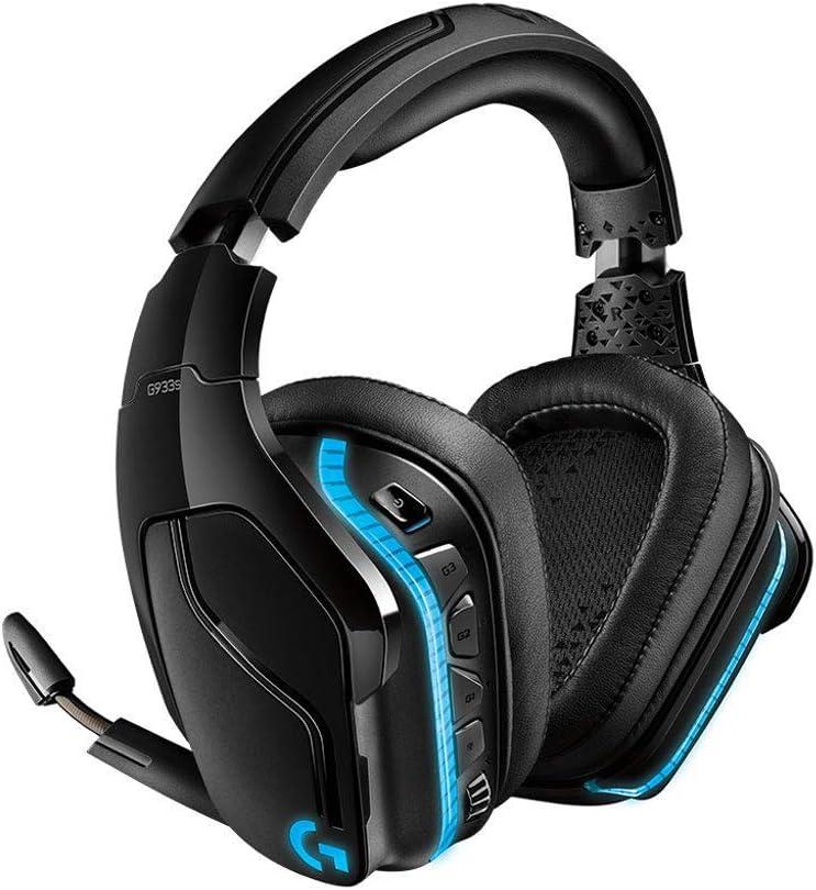Logitech G933s Wireless Gaming Headset ロジテック ワイヤレス ゲーミング ヘッドセット ブラック Dolby DTS 7.1ch 臨場感