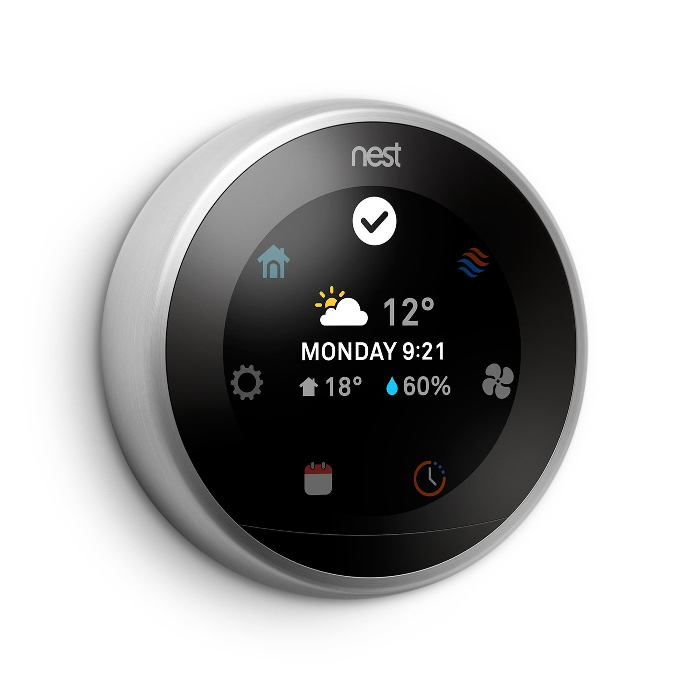 Nest Learning Thermostat 3rd Generation Works With Amazon Alexa Wiring Ring Building Supplies Canada