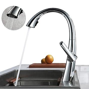 Super ubeegol Spültischarmatur Wasserhahn Küche 360°drehbar UI75