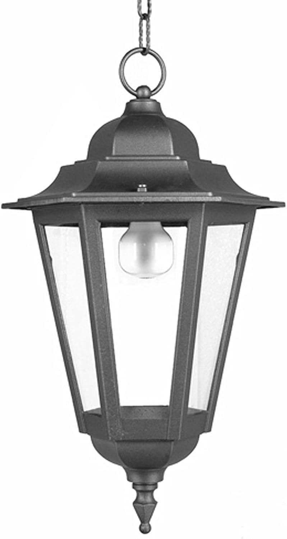 LISB414-LINTERNA DE ILUMINACIÓN EXTERIOR LÁMPARA COLGANTE DE JARDÍN-FABRICADO EN ITALIA POR VALASTRO LIGHTING: Amazon.es: Iluminación