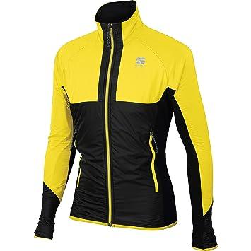 Sportful Cardio - Chaqueta Cortavientos, Color Amarillo y ...