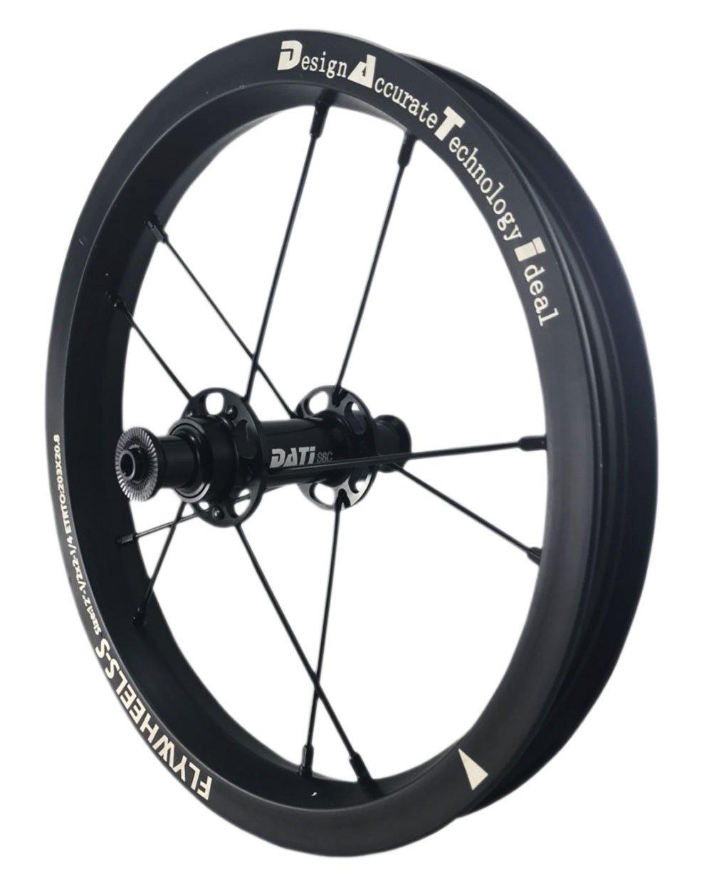 NEW DATI S6C-W AlloyPush Kids Balance Bike Bicycle Super light wheels Set 12'' F+R (Blake, 90X10mm for(Bixbi Puky)) by DATI