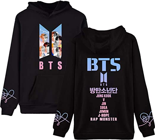 Kpop BTS Love Yourself Tear Answer Hoodie Cat Ear Sweater Jimin Suga V Jin Pullover Jacket