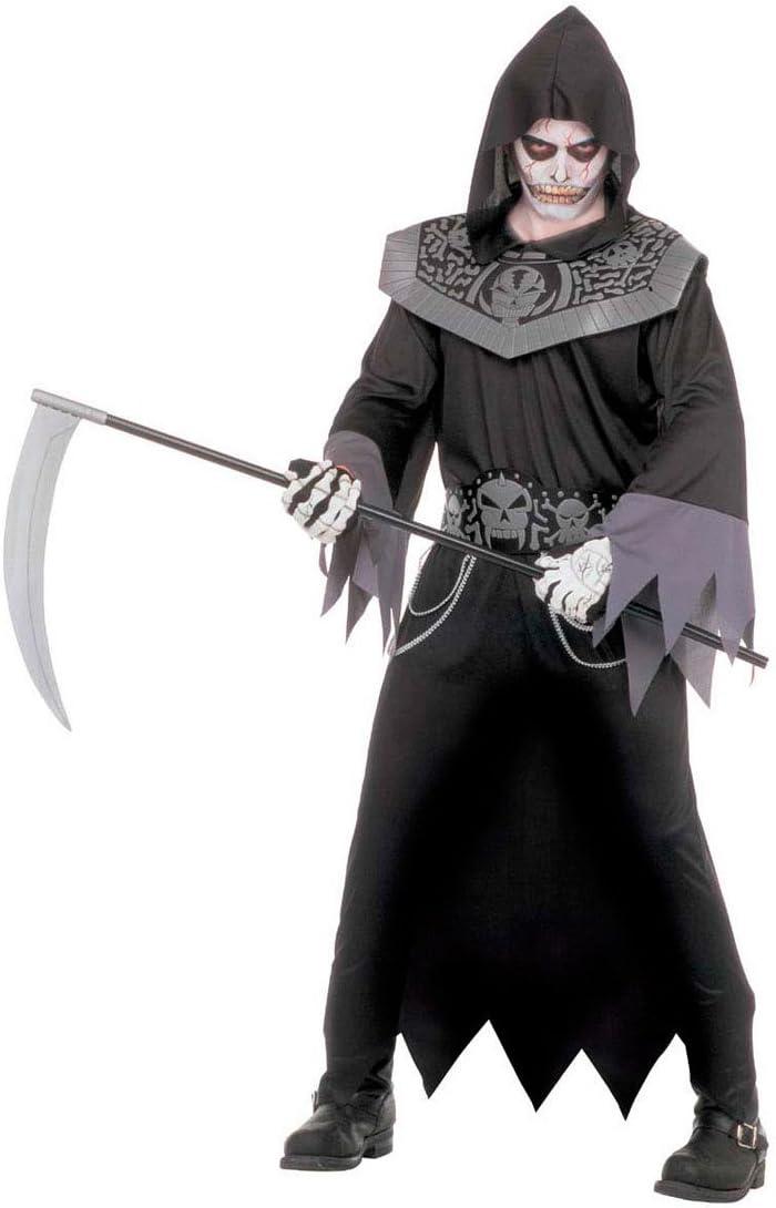 NET TOYS Disfraz de la Muerte Traje Halloween Horror: Amazon.es ...
