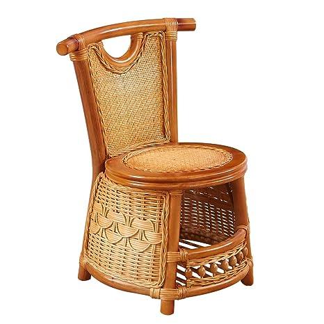 LAZ Silla de Mimbre Silla de bambú de los taburetes, Silla ...