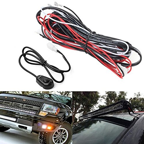 baynne-led-hid-driving-wiring-harness-kit-fog-work-light-wire-set-with-switch-relaycolor-blackred
