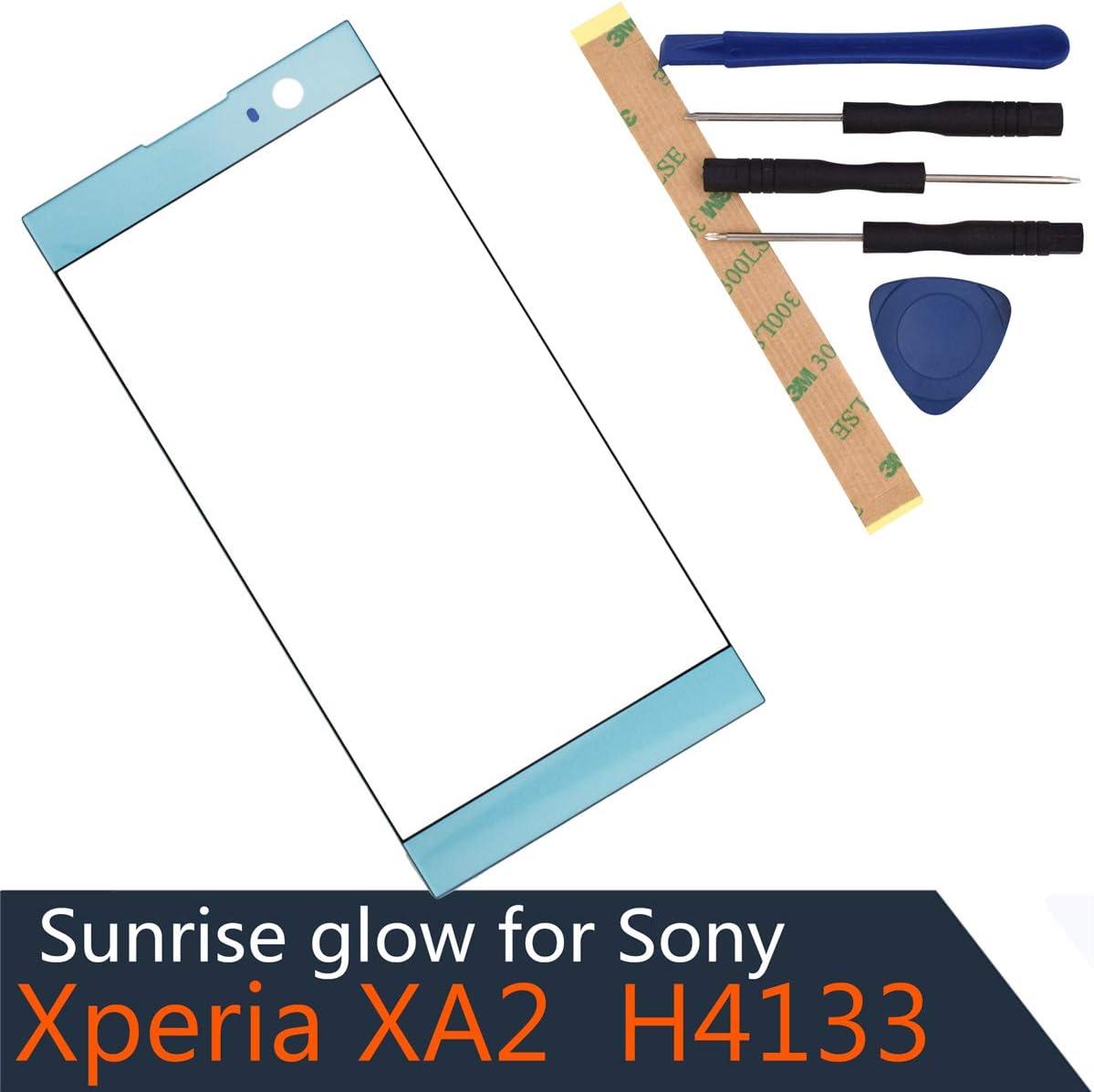Vidrio Frente Sony Xperia Xa2 H3123 H3133 H4113 Azul