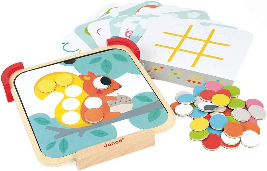 Janod- Aprendo Los Colores - Discos Magnéticos (Madera), Multicolor (Juratoys J05321): Amazon.es: Juguetes y juegos
