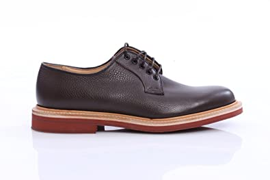 698d020ed2fd3 Amazon.com | Church's Shoes FULBECK in Brown Leather, Mens, Size: 8 ...