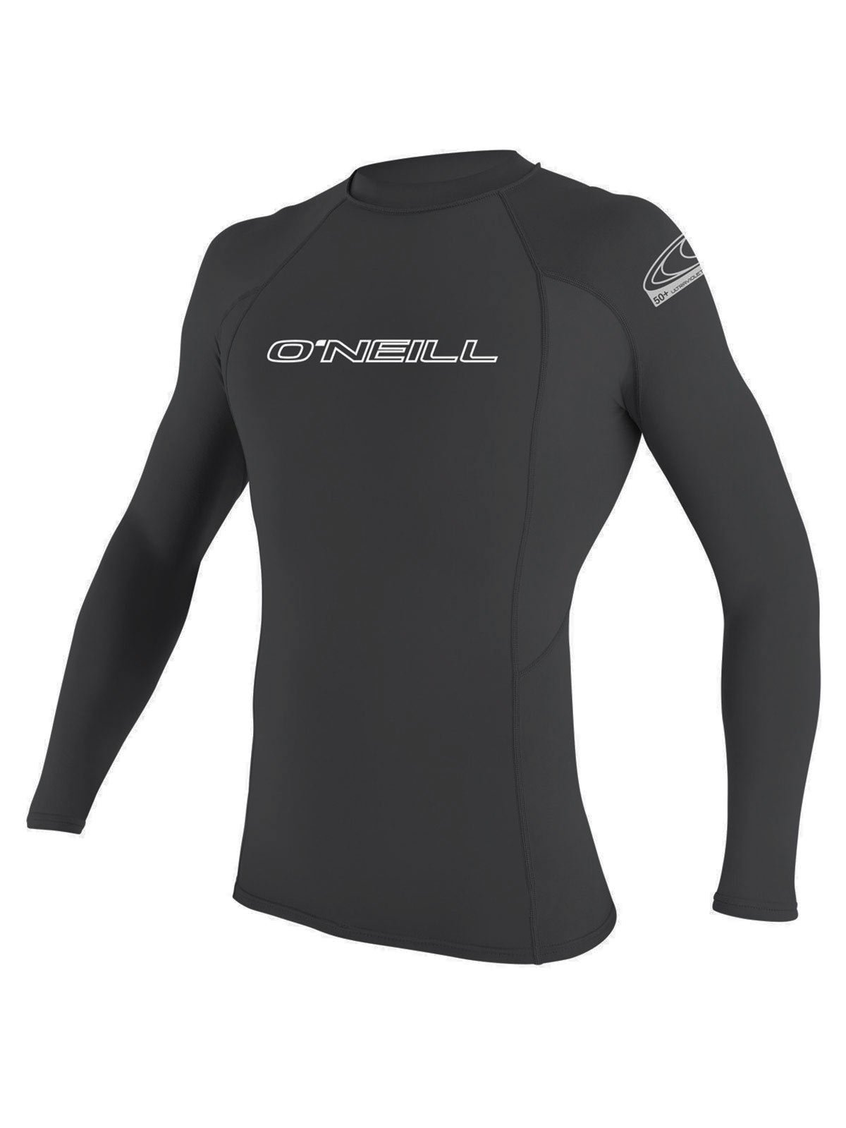 O'Neill men's basic skins long sleeve rashguard L Graphite (3342IS) by O'Neill Wetsuits