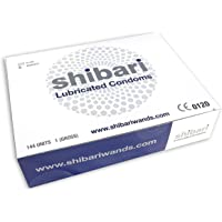 Shibari Premium Lubricated Latex Condoms, 144 Count