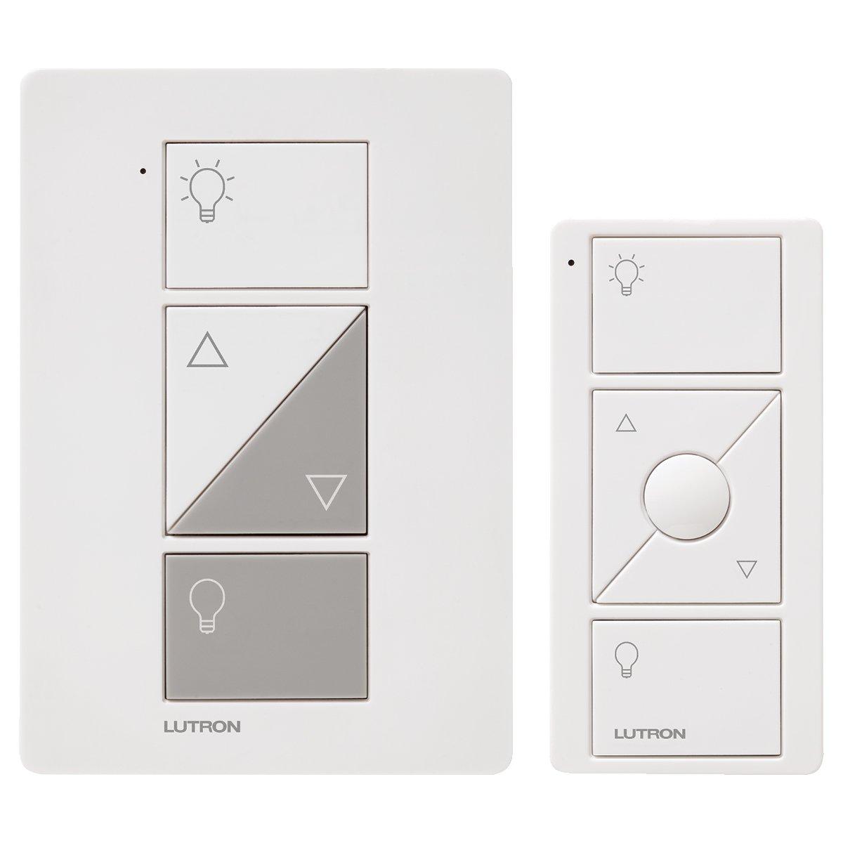 Lutron P-Pkg1P-Wh Caseta Wireless 300-Watt/100-Watt Plug-In Lamp Dimmer With.. 4