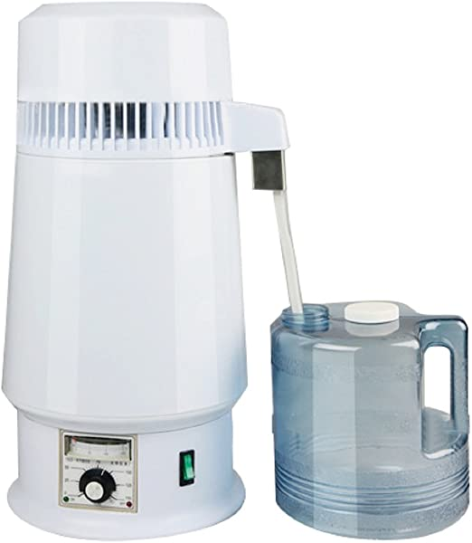 4L Water Distiller Temperature Controlled Distilled Purified Stainless Steel