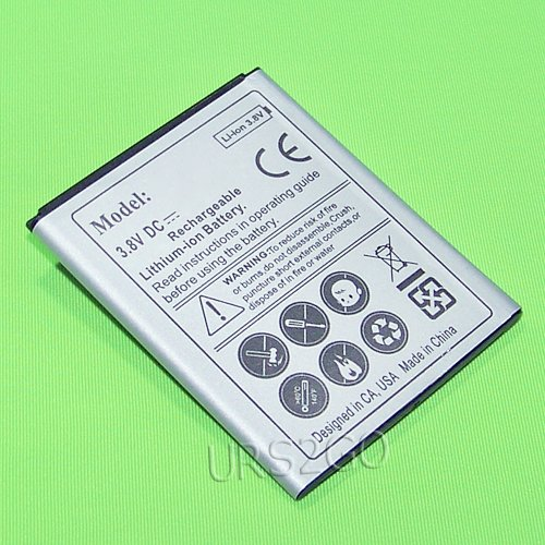 High Power 2100mAh Extended Slim Rechargerable Li_ion Grade A Battery for T-Mobile Samsung Galaxy Light SGH-T399 Smartphone