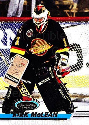 Kirk McLean Hockey Card 1993-94 Stadium Club #163 Kirk McLean