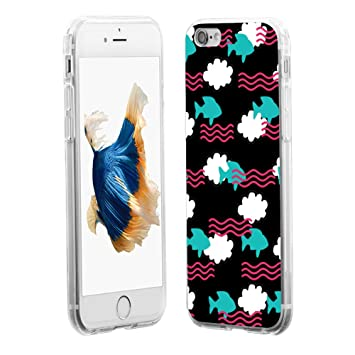 Amazon com: EUNOMIA Cartoon Cloud Fish Shockproof Cell Phone