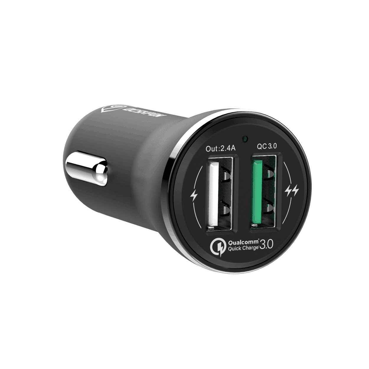 Motorola Moto G5S//G5 Plus Quick Charge 3.0 Car Charger Dual USB Port Compatible for Samsung Galaxy J7//J6//J6+//J4//J3 Prime Pro,S7 Edge//S7,S6 Edge//S6 S5 S4,Note 5 4 LG Q6 5Ft Micro USB Cable TPLtech 4333144594