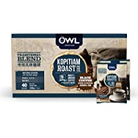 Owl Kopitiam Roast & Ground Traditonal Blend Coffee, 5.5g (Pack of 40)