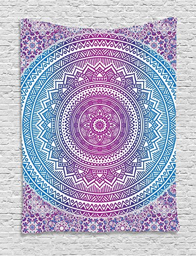 Tapestry Ambesonne Mandala Medallion Bohemian
