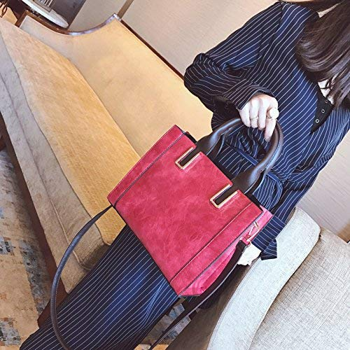 Eeayyygch Bolso Gules Bag Hombro Tamaño De Handbag And Messenger color Gules aawrRq